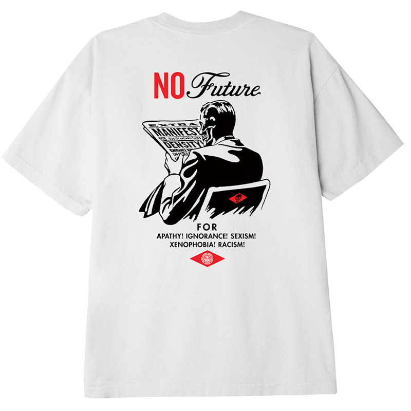 Obey No Future T-Shirt White