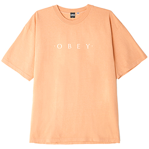 Obey Novel OBEY T-shirt Apricot