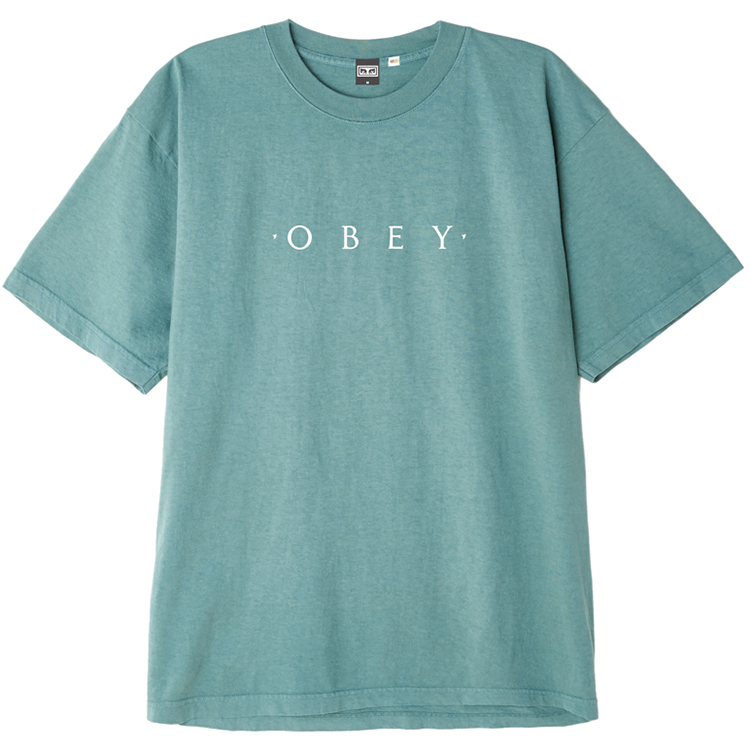 Obey Novel OBEY T-shirt Atlantic Green