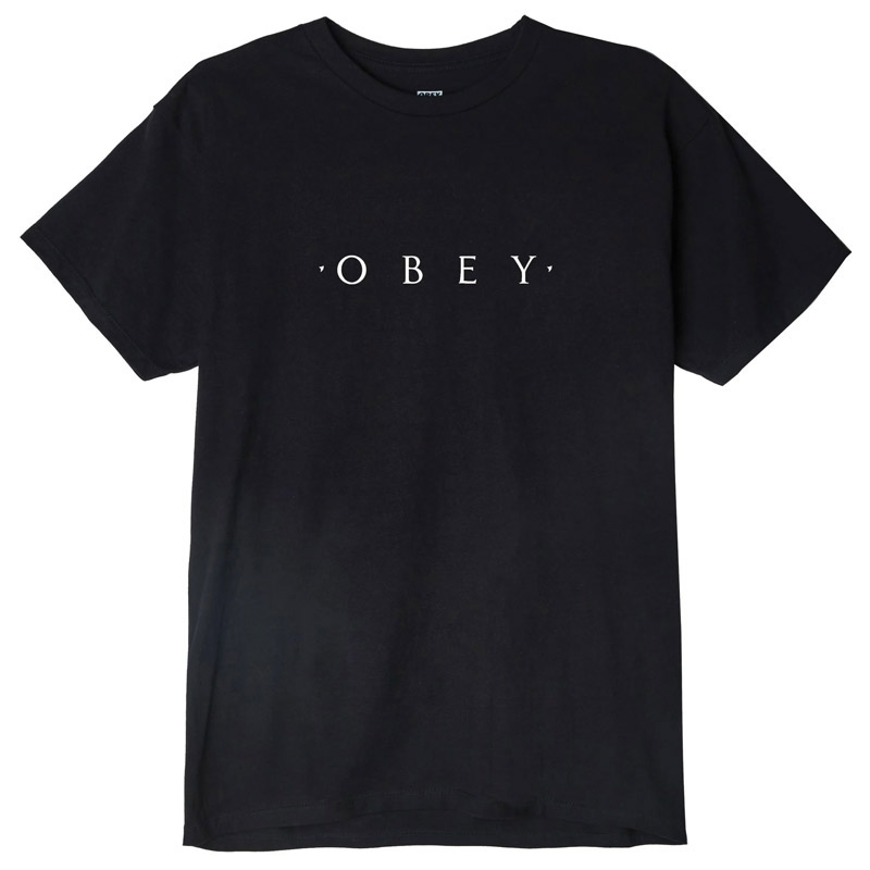 Obey Novel OBEY T-shirt Black