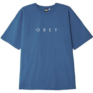 Obey Novel OBEY T-shirt Blue Moon