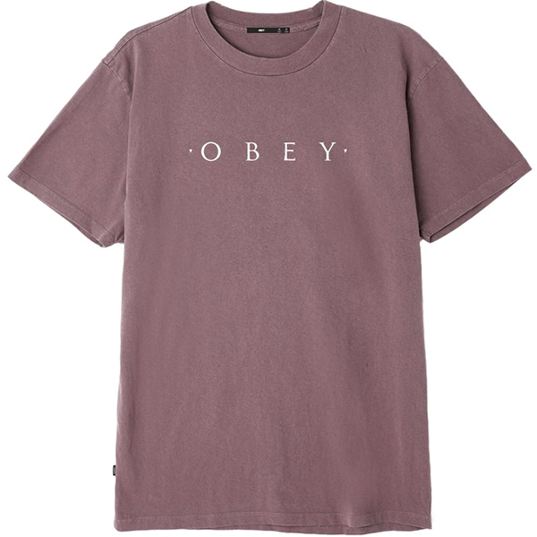 Obey Novel T-shirt Dusty Eggplant