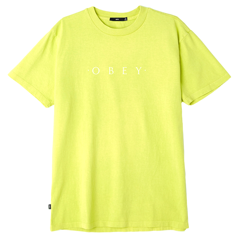 Obey Novel Obey T-shirt Dusty Mint