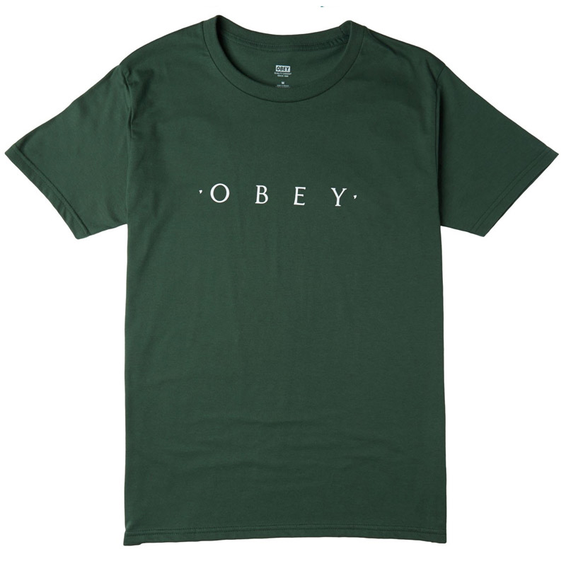 Obey Novel OBEY T-Shirt Forest Green