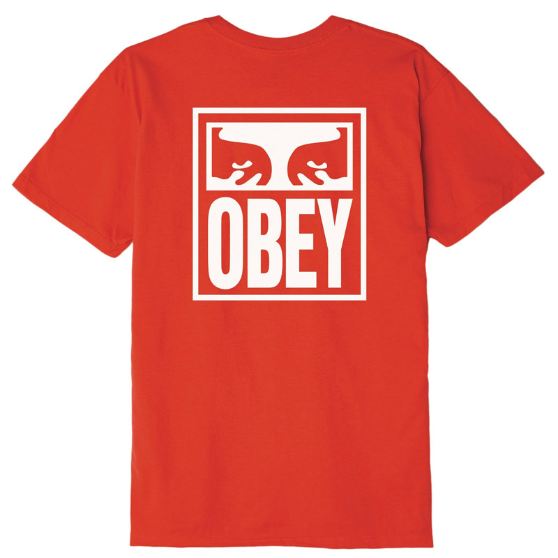 Obey OBEY Eyes Icon T-Shirt Red