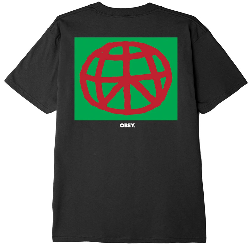 Obey Worldwide Peace T-Shirt Black