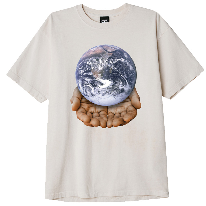 Obey Our Planet Is In Your Hands T-Shirt Sago