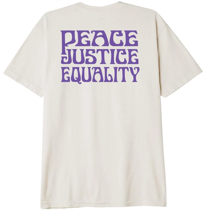 Obey Peace Justice Equality T-Shirt Sago