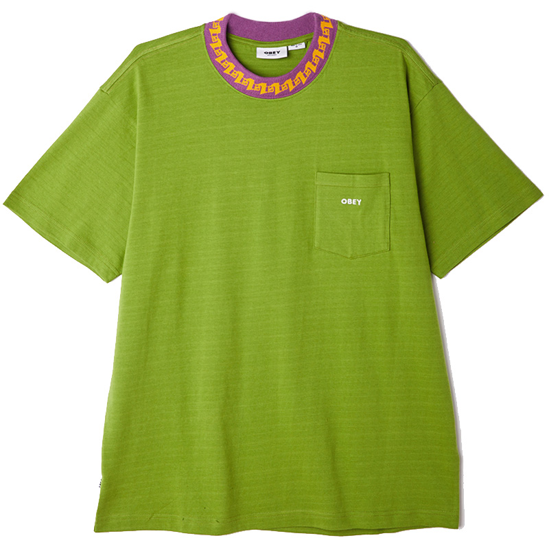 Obey Plona Pocket T-Shirt Apple Buzz