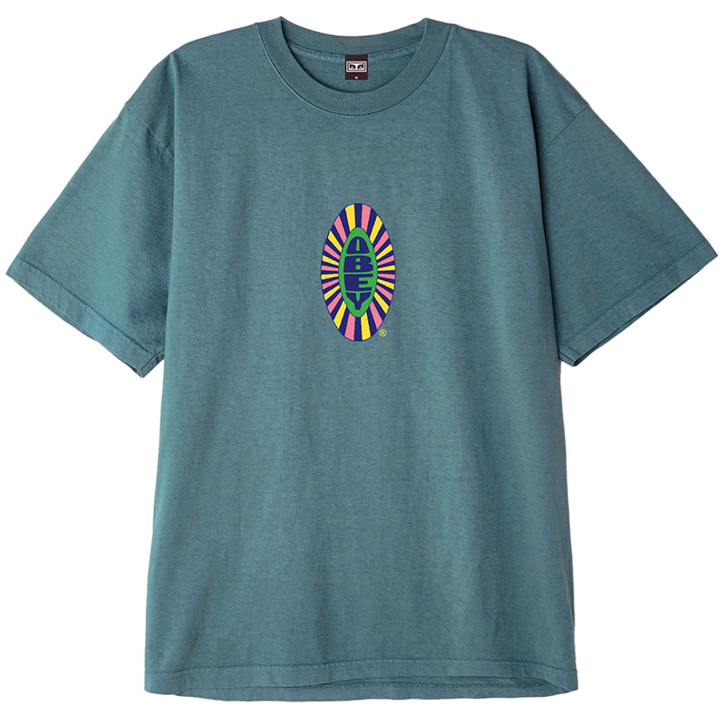 Obey Psych T-Shirt Pacific Blue