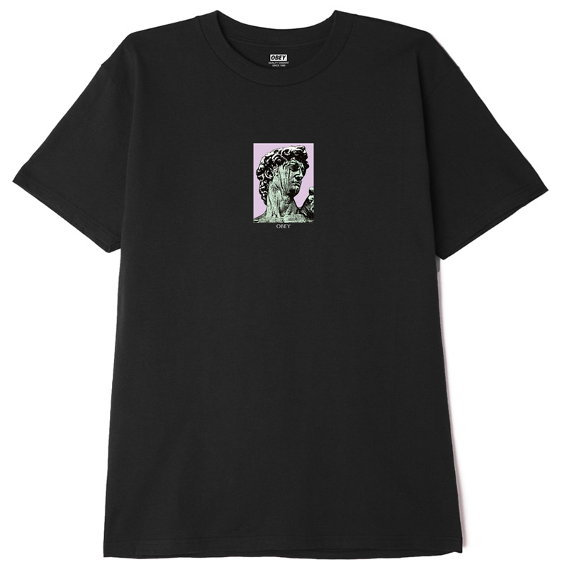 Obey Rome T-Shirt Black