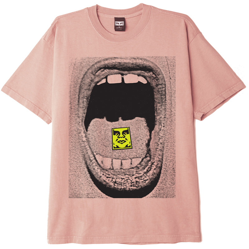 Obey Scream T-Shirt Putty