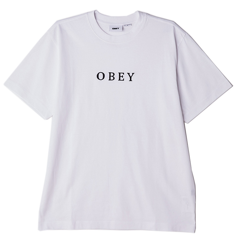Obey Smith T-Shirt White