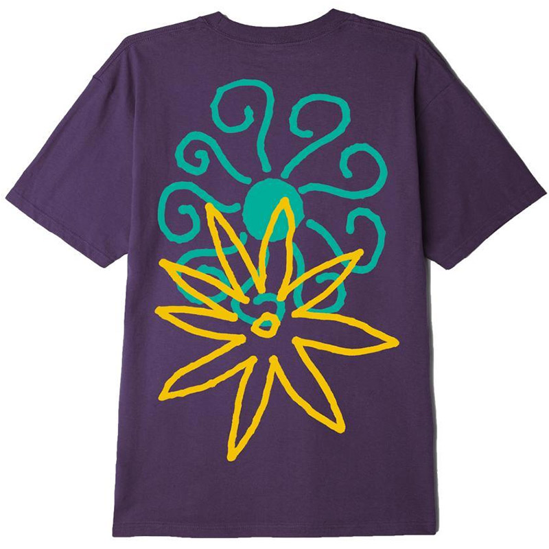 Obey Spring time T-shirt Mauve