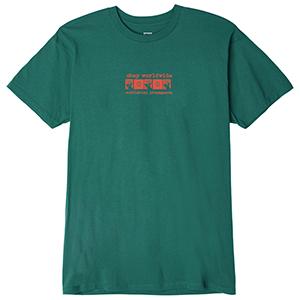 Obey Subliminal Propaganda T-shirt Teal