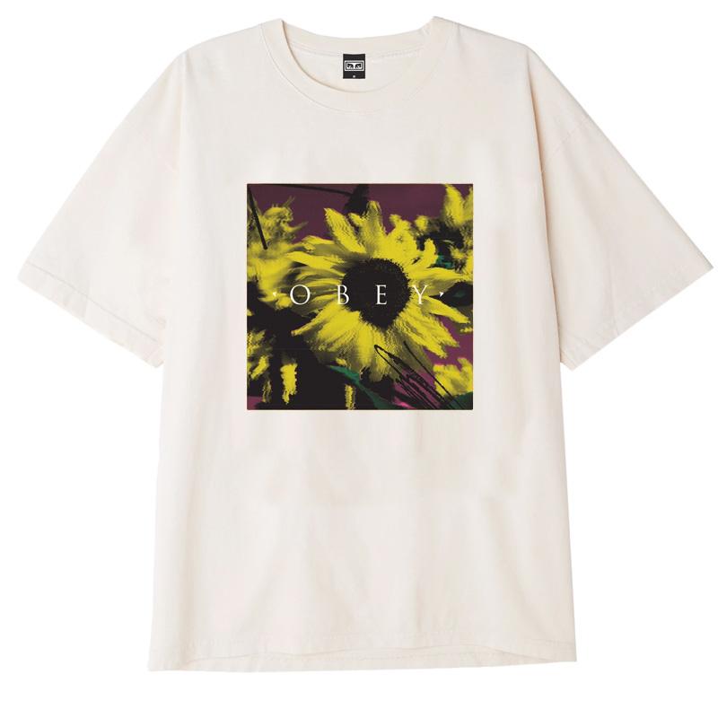 Obey Sundaze T-Shirt Cream