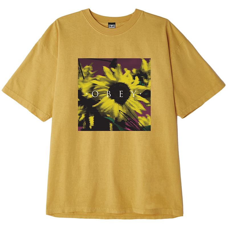 Obey Sundaze T-Shirt Dijon