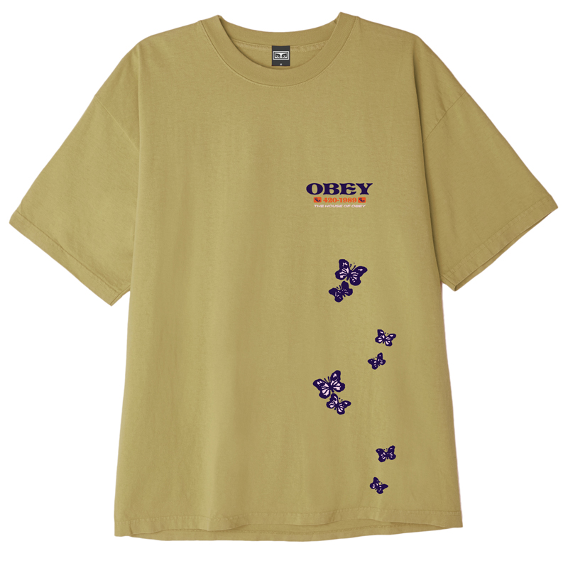 Obey To The Children T-Shirt Almond