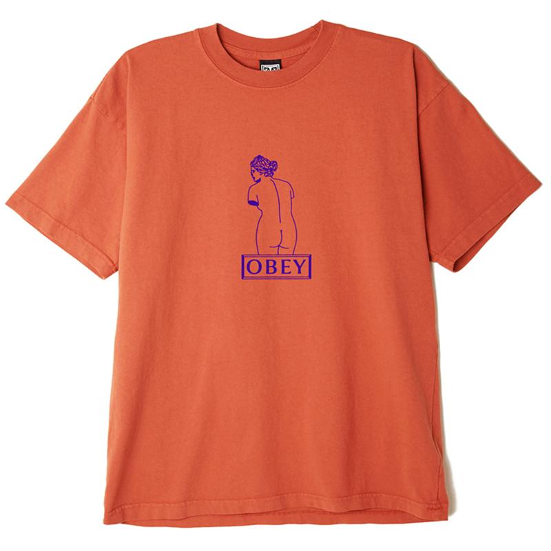 Obey Venus T-Shirt Pumpkin Spice