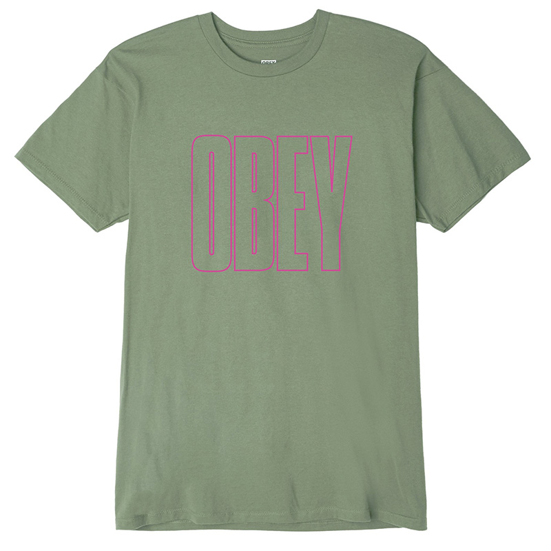 Obey Worldwide Line T-Shirt Sage