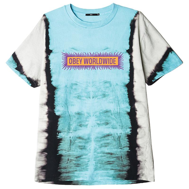 Obey Worldwide T-Shirt Blue