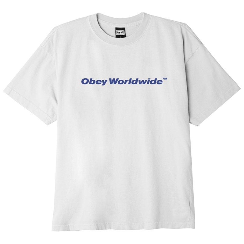Obey Worldwide T-Shirt White