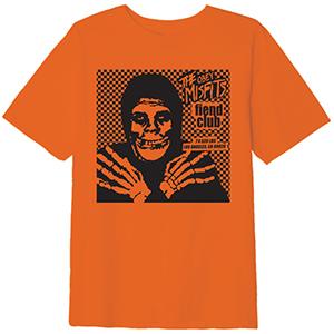Obey X Misfits Fiend Club Hallow T-Shirt Orange