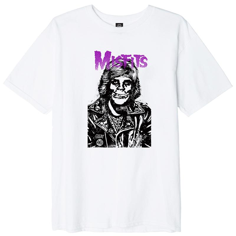 Obey X Misfits Fiend Rocker T-shirt White