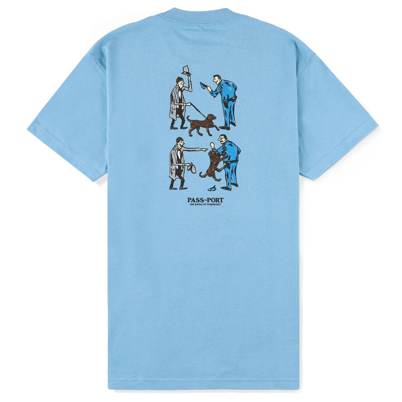 Pass-Port Friendly K9 T-Shirt Carolina Blue