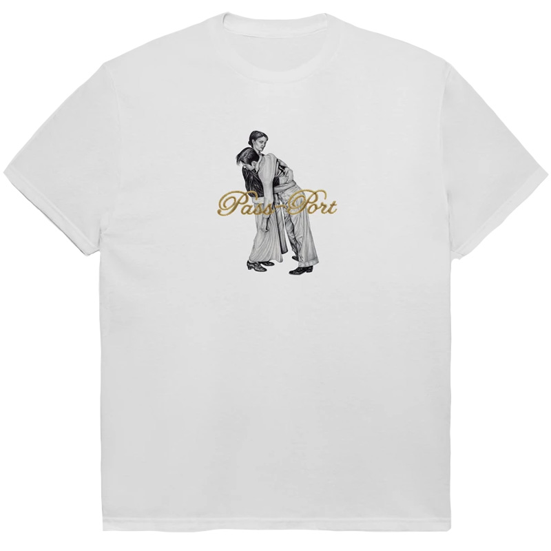 Pass-Port Lean On Me T-shirt White
