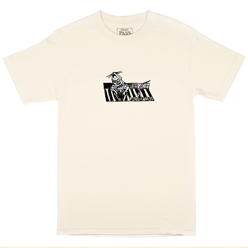 Pass Port Ratto T-Shirt Cream
