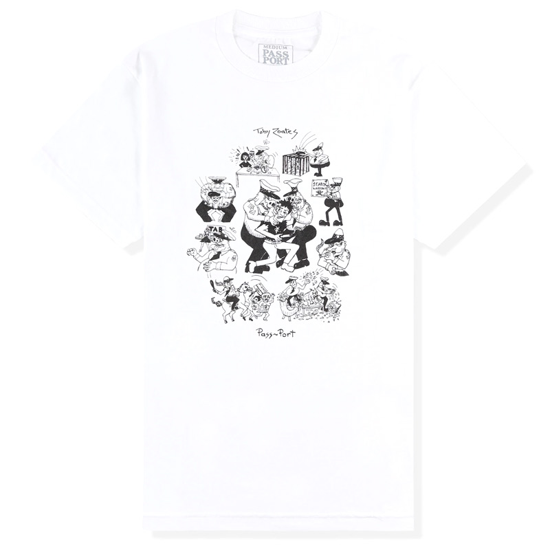 Pass Port x Toby Zoates Coppers T-Shirt White