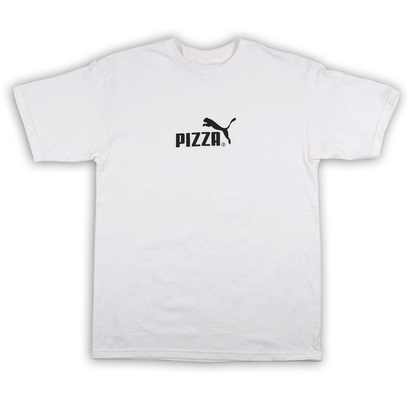 Pizza Cat T-Shirt White