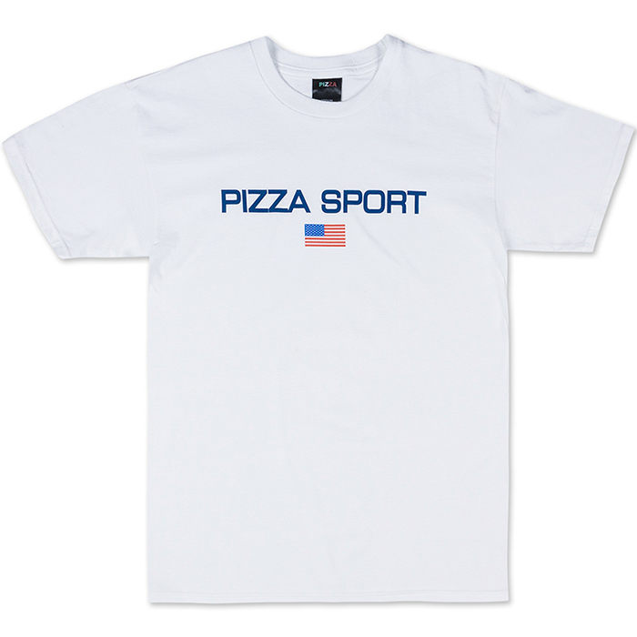 Pizza Logo T-Shirt White