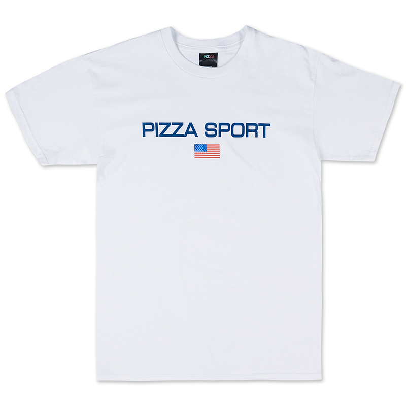 Pizza Sport T-Shirt White
