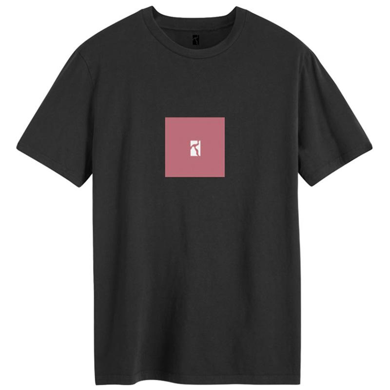 Poetic Box T-Shirt Black/Pink