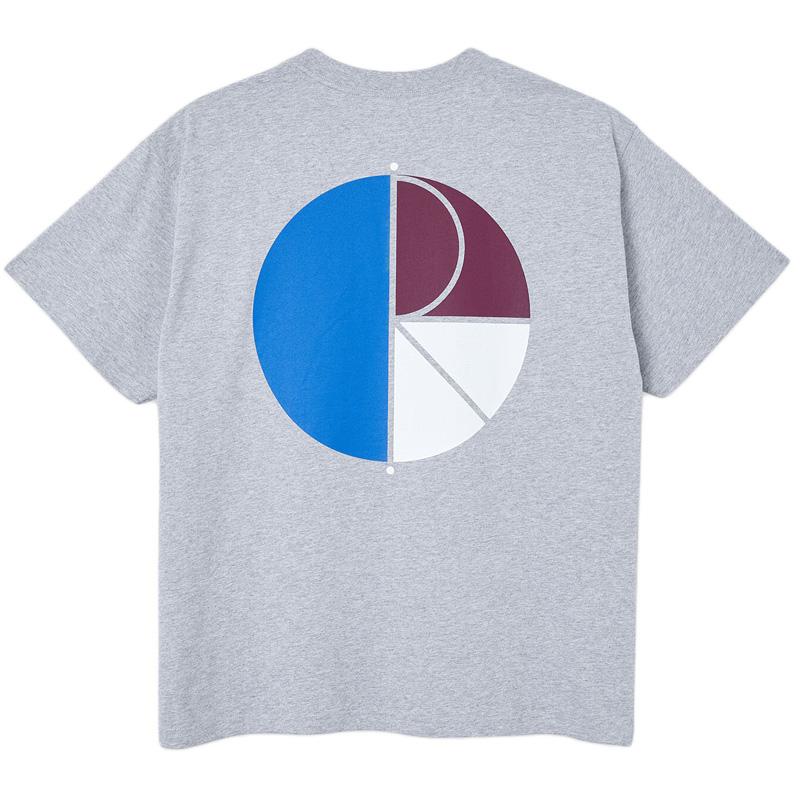 Polar 3 Tone Fill Logo T-Shirt Sport Grey
