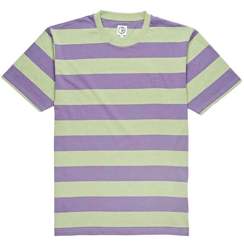 Polar 91' Stripe T-Shirt Lilac/Sage