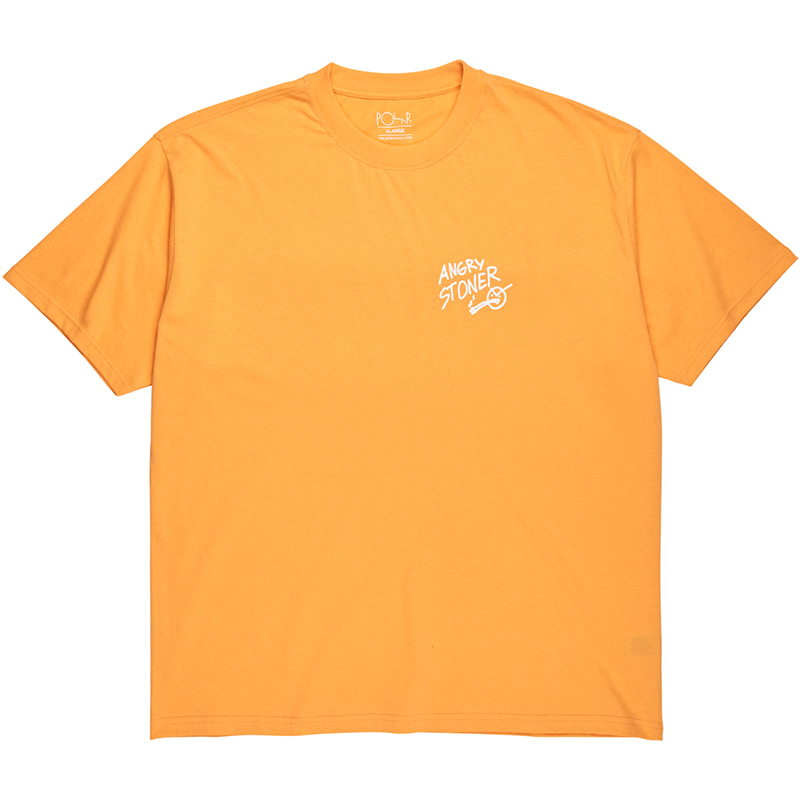 Polar Angry Stoner T-Shirt Orange