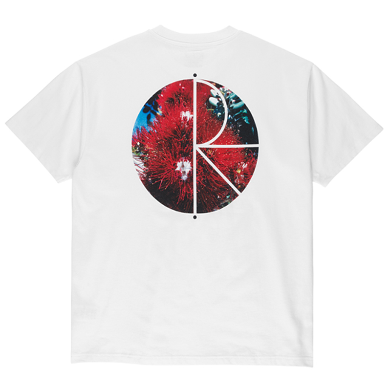 Polar Callistemon Fill Logo T-Shirt White