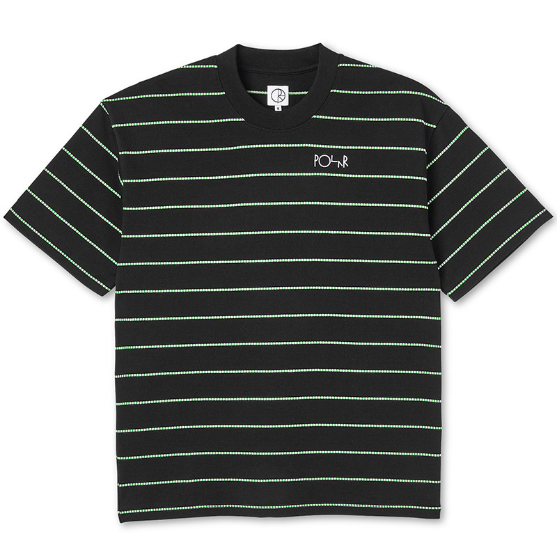 Polar Checkered Surf T-Shirt Black