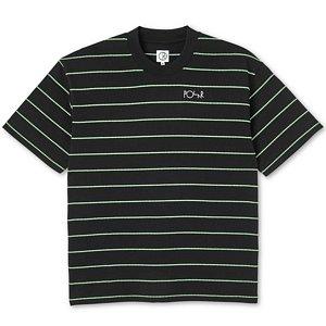 Polar Checkered Surf T-Shirt Black