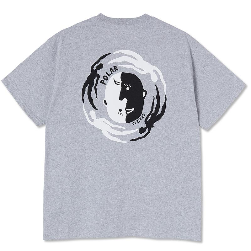 Polar Circle of Life T-Shirt Sport Grey