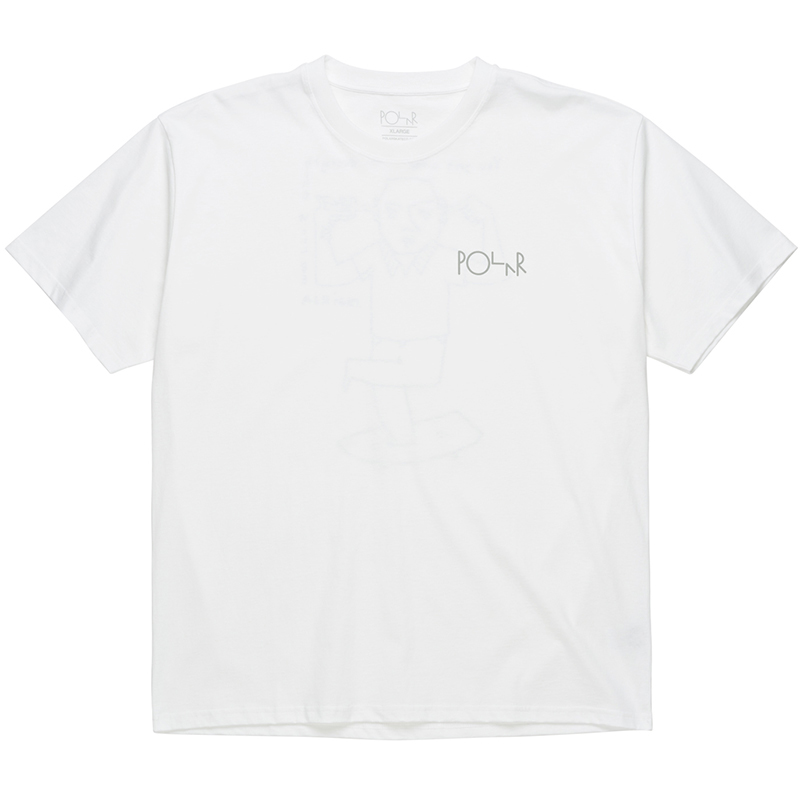 Polar Click T-Shirt White