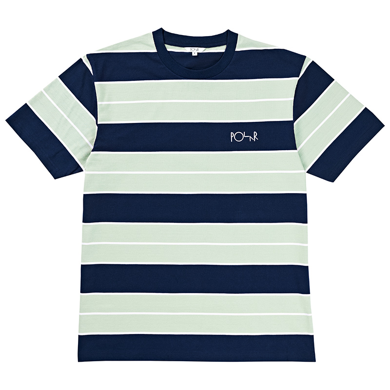 Polar Dane T-Shirt Navy/Mint