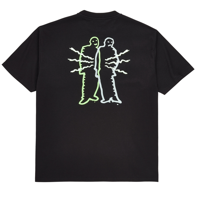 Polar Electric Man T-Shirt Black