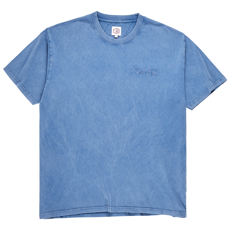 Polar Elvira Logo T-Shirt Blue