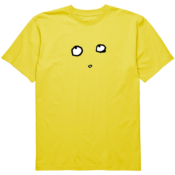 Polar Eyes T-Shirt Shock Yellow