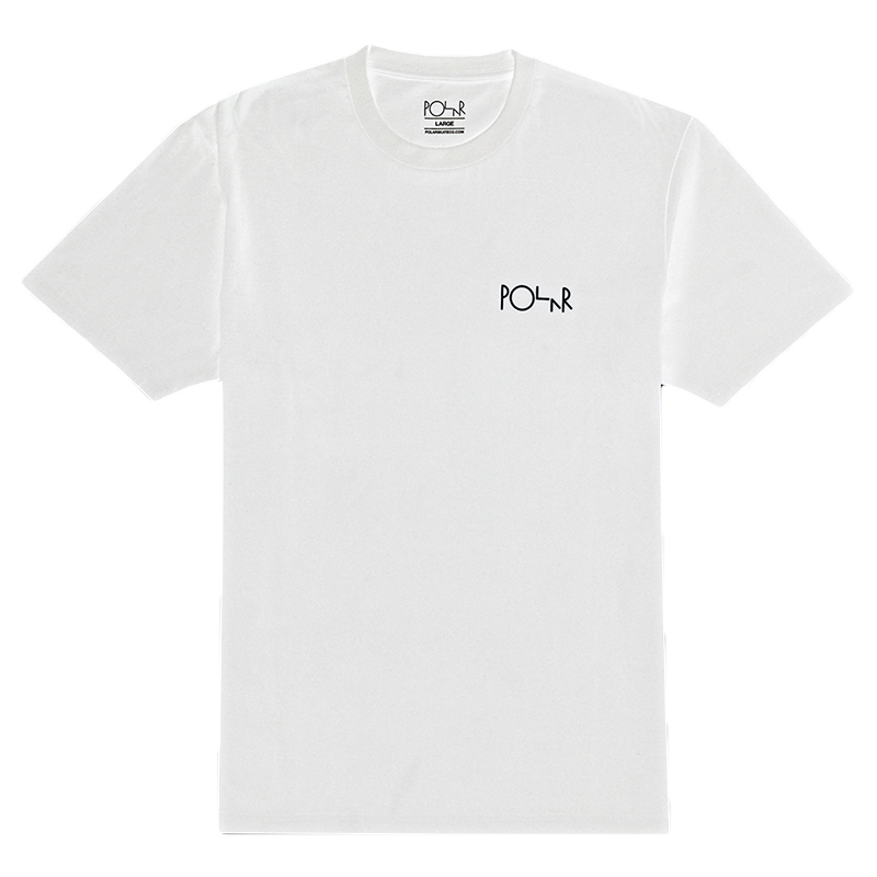 Polar Fill Logo T-Shirt White / Black