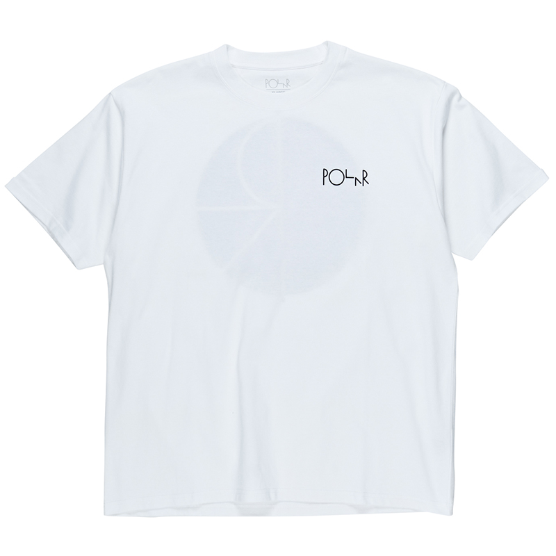 Polar Fill Logo T-Shirt White/Black